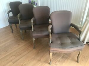 Wood Chairs set of 4 all for Sale $500