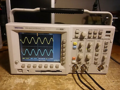Tektronix Tds3052 500 Mhz 5gss 2 Channel Oscilloscope. From A Tds3012 New Ps