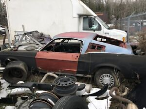 1967 mustang fastback project.