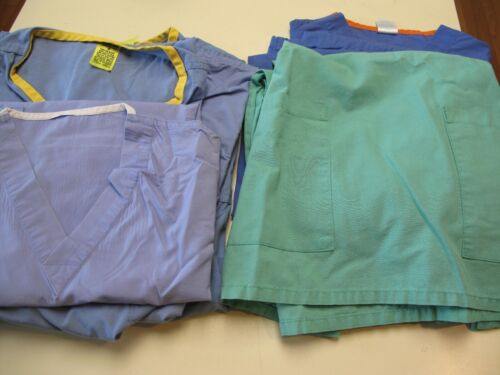 Lot of 2 Scrub Sets + 3 Tops Size Small