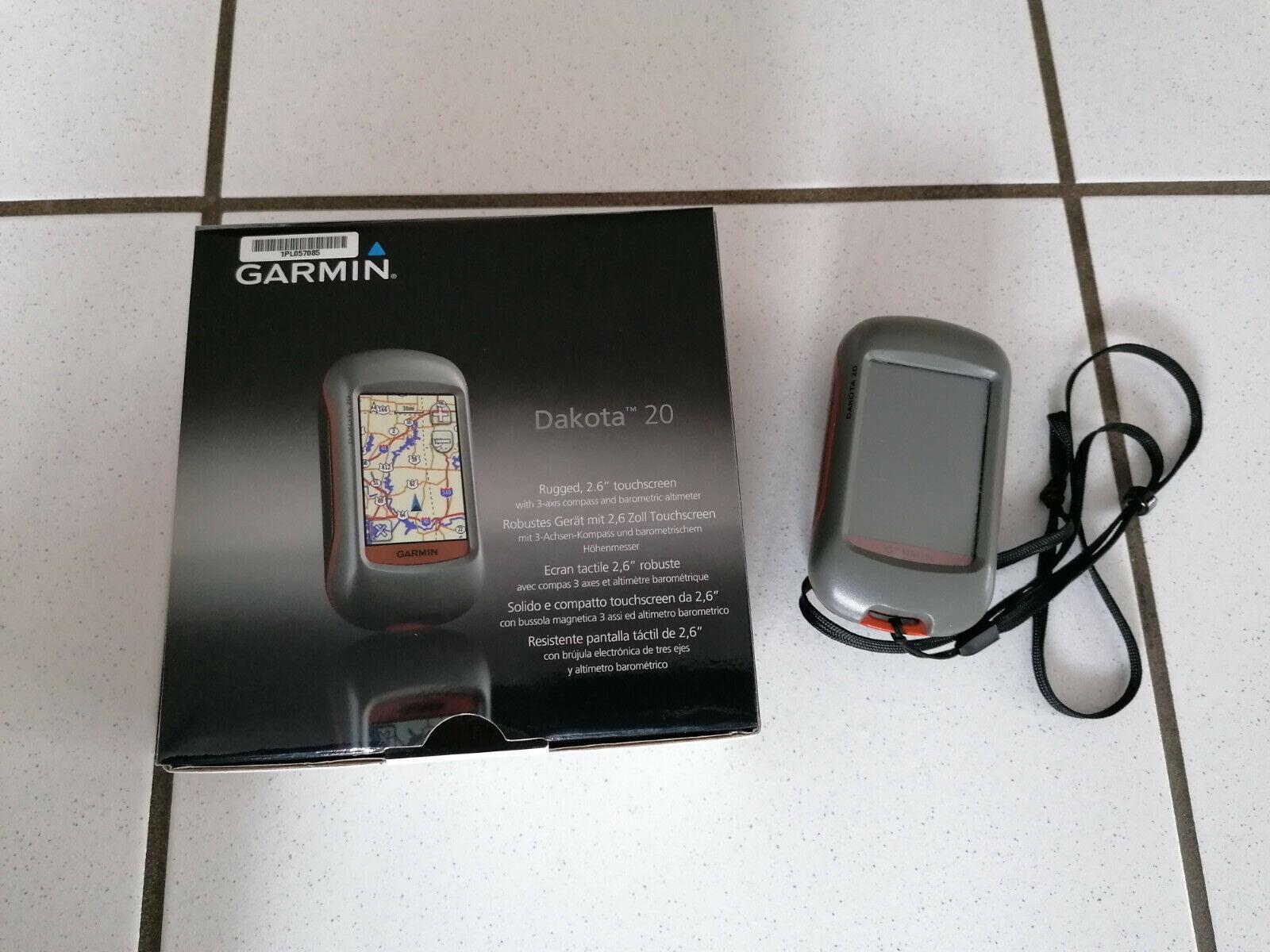 Garmin GPS Handgerät Dakota 20 * Wandernavi *