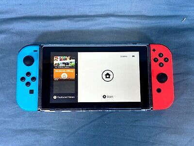 Nintendo Switch Neon Red and Neon Blue Joy-Con Console -