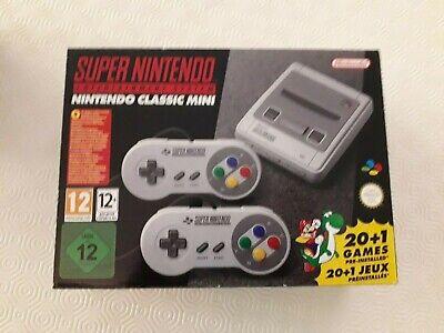 Super Nintendo Entertainment System SNES Classic Mini Console