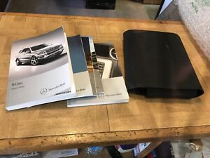 2012 2013 2014 2015 Mercedes ML 350 400 owner's manual