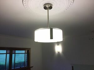 Light Pendants x 2 + matching wall lights x3 Grose Vale Hawkesbury Area Preview