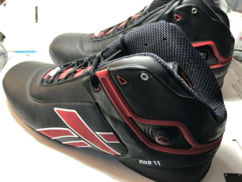 Yao Ming Custom Made Reebok Promo Sample Black Red Show Shopper Chinese 18.5