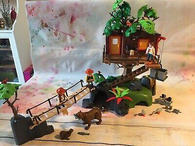 Playmobil 5557 Wildlife Adventure Tree House Playset
