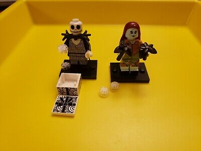 LEGO JACK SKELLINGTON & SALLY DISNEY SERIES 2 minifigs 71024 halloween christmas