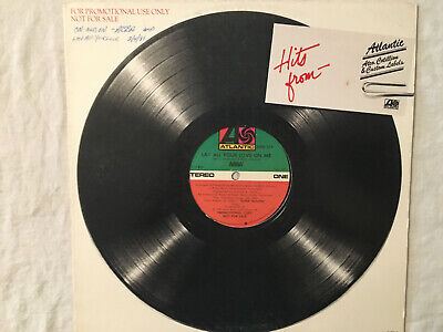 """ABBA Lay All Your Love on Me On and On black vinyl 12"""" record promo Atlantic US"""