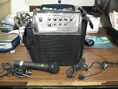 Amplivox SW212 Mity-Vox Portable Sound System PA Handheld Battery Amplivox Portable Sound Systems