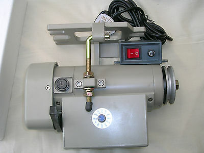 EAGLE SPECIAL ELECTRONIC SERVO INDUSTRIAL SEWING MACHINE MOTOR 1/2 HP RPM 0-3600