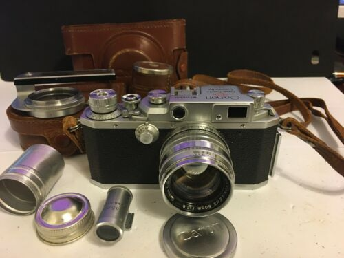 Canon IVSB EP vintage 35mm Rangefinder Camera (very rare)