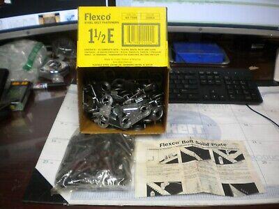 Flexco Steel Belt Fasteners 1-12 E 25 Sets Per Box 20004