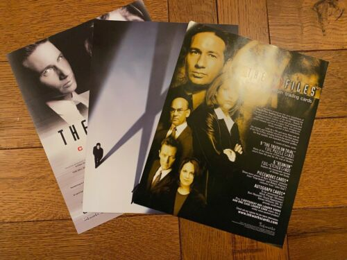 X-FILES -- 3 SELL SHEETS