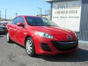MAZDA 3 GS 2010 ***BAS KILO,BLUETOOTH***