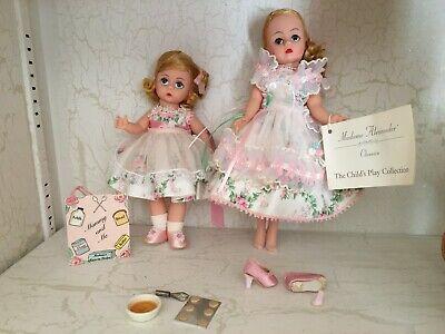 "Mommy & Me on the GO set 10"" & 8"" Madame Alexander dolls"
