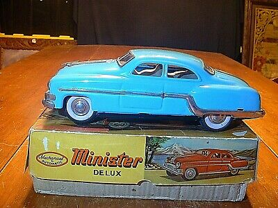 Vintage 1950-60's Minister Delux Friction Car Near Mint