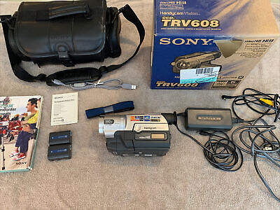 Sony CCD-TRV608 Complete With Box, Two Batteries, Accessories