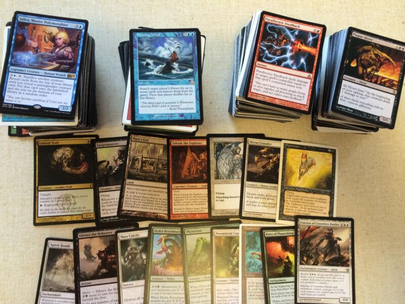 Mtg: Magic The Gathering Cards 100 Random Rare Bulk Rares  Lot Free Shipping Cny