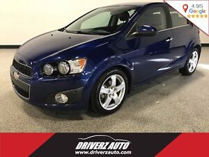 2012 Chevrolet Sonic LTZ CLEAN CARPROOF, TURBO, 6 SPEED MANUAL