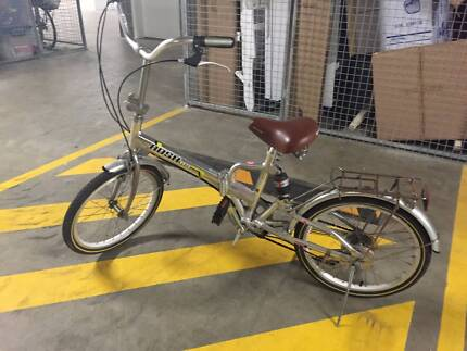 Rush Rs Foldable Bike Hipster Look Lidcombe Auburn Area Preview