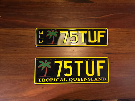 Personalised number plates 75TUF