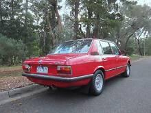 1976 E12 BMW 520 Sedan Prahran Stonnington Area Preview
