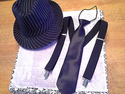 Newsboy Outfit (boys birthday outfit hat tie suspenders set easter photo prop vintage newsboy)