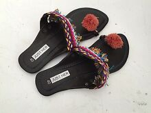 Bohemian Womens Leather and Cloth Sandle size 40 Newport Pittwater Area Preview