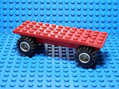 Cars Lego Duplo Motivstein blau Baustein Auto Werkstatt