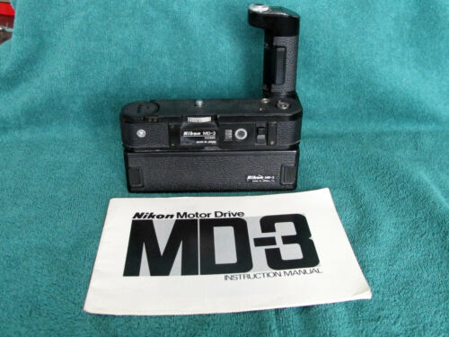 Nikon MD-3 MB-2 Motordrive System For F2 F2AS F2S F2A F2SB Good Tested User