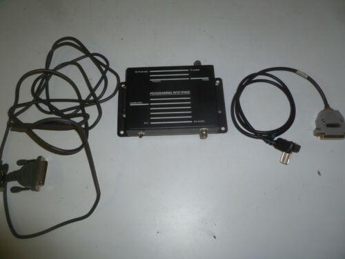 MA/COM GE ERICSSON TQ3370 Two Way Radio Programming Interface & MRK Cable OC509