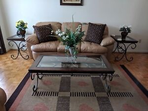 Coffee and decorative table set