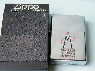 ZIPPO 1999 MAGGIES BUILDING SOLUTIONS (Canonsburg PA)