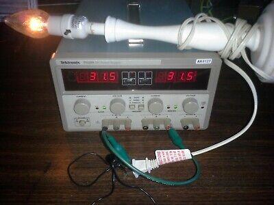 Tektronix Ps283 Benchtop Adjustable Lab Power Supply Tested 0-30v X2 5v3a