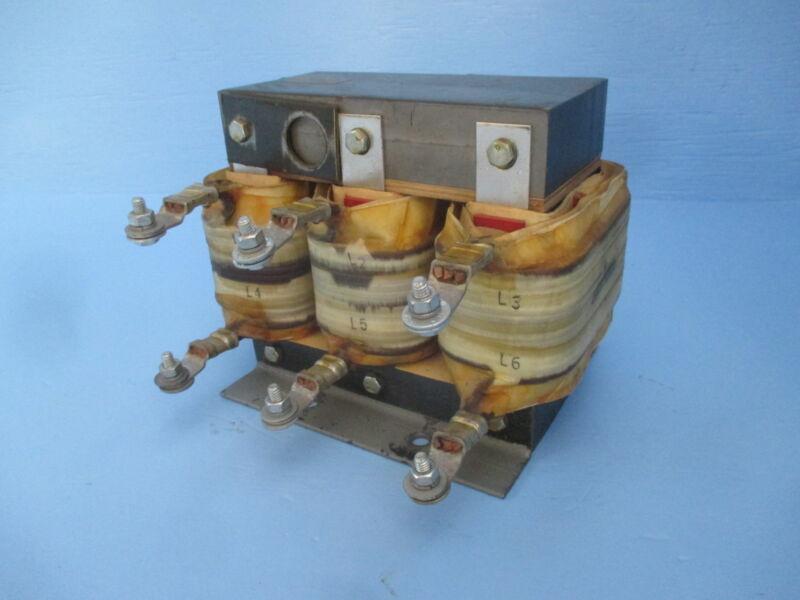 Allen Bradley / TCI 113122 / 6454 Line Reactor 2.15 kVA 460/415/380 Volt 460V AB