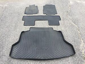 Tapis originaux moulés Honda CRV 2011-2012-2013-2014