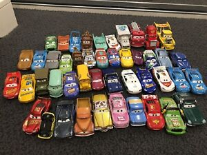 Cars 2 & 3 metal collectables