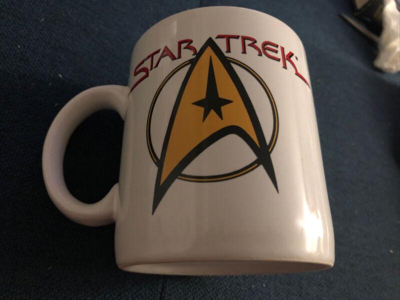 1994 VINTAGE PFALTZGRAFF STAR TREK Coffee MUG Cup - Starfleet Command Logo NEW!