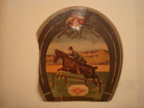 Vintage Needle Book American Equestrian Horse Racing