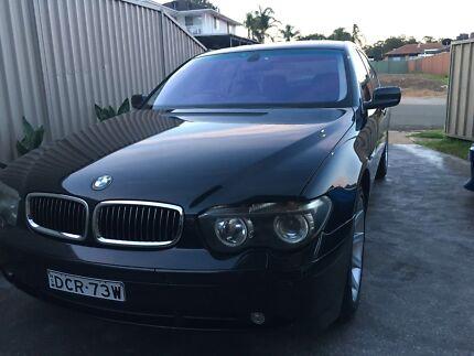 BMW 745I wrecking