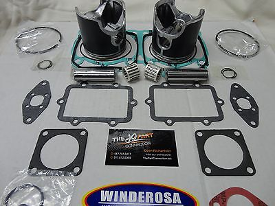 - SKI DOO 2001-07 800 TOP END PISTON KIT WITH WINDEROSA GASKETS AND SPI BEARINGS