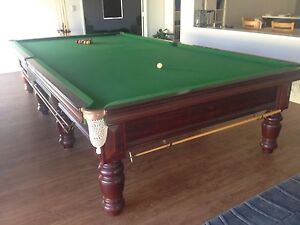 Full Size 12ft Alcock Billiard Table Madora Bay Mandurah Area Preview