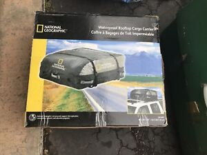 National Geographic waterproof rooftop cargo carrier