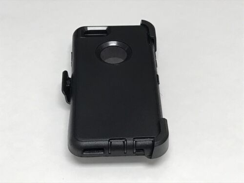 For Apple iPhone 6/6S Case Cover(w/Belt Clip fits Otterbox Defender series)Black