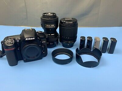 Nikon D7500 Bundle with 3 lenses - 18-140mm VR, 35mm, 50mm and accessories