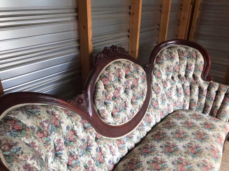 Victorian couch and chairs
