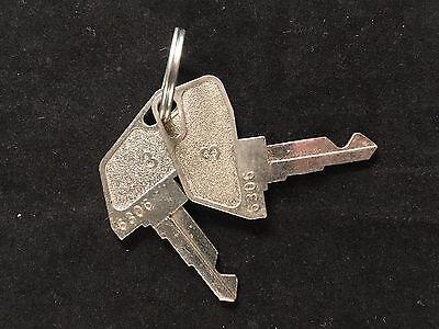 Tec Cash Register 3 Key 6306 Set Of 2