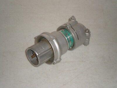 Appleton Acp3033-c Plug Pinsleeve Powertite 30 Amp 3 Wire 3 Pin Free Shipping