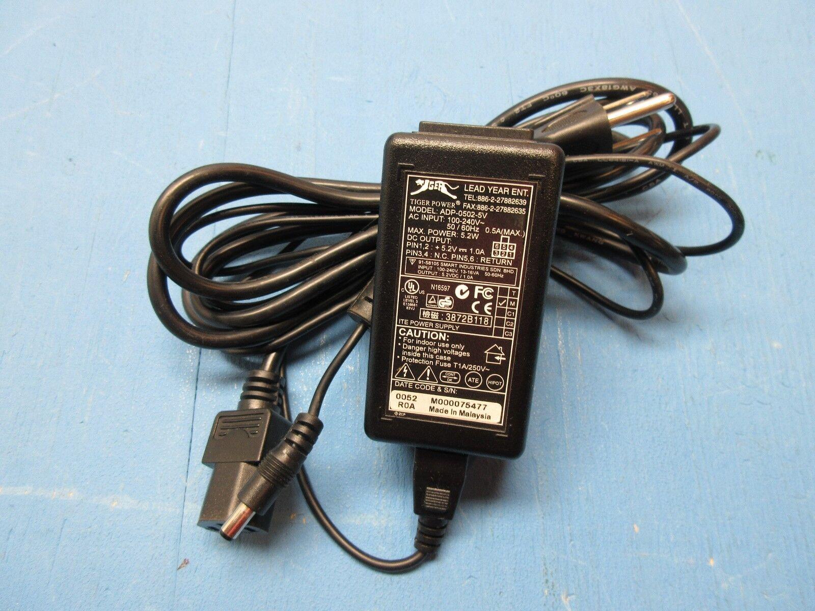 TIGER POWER ADP-0502-5V 5.2VDC POWER ADAPTER